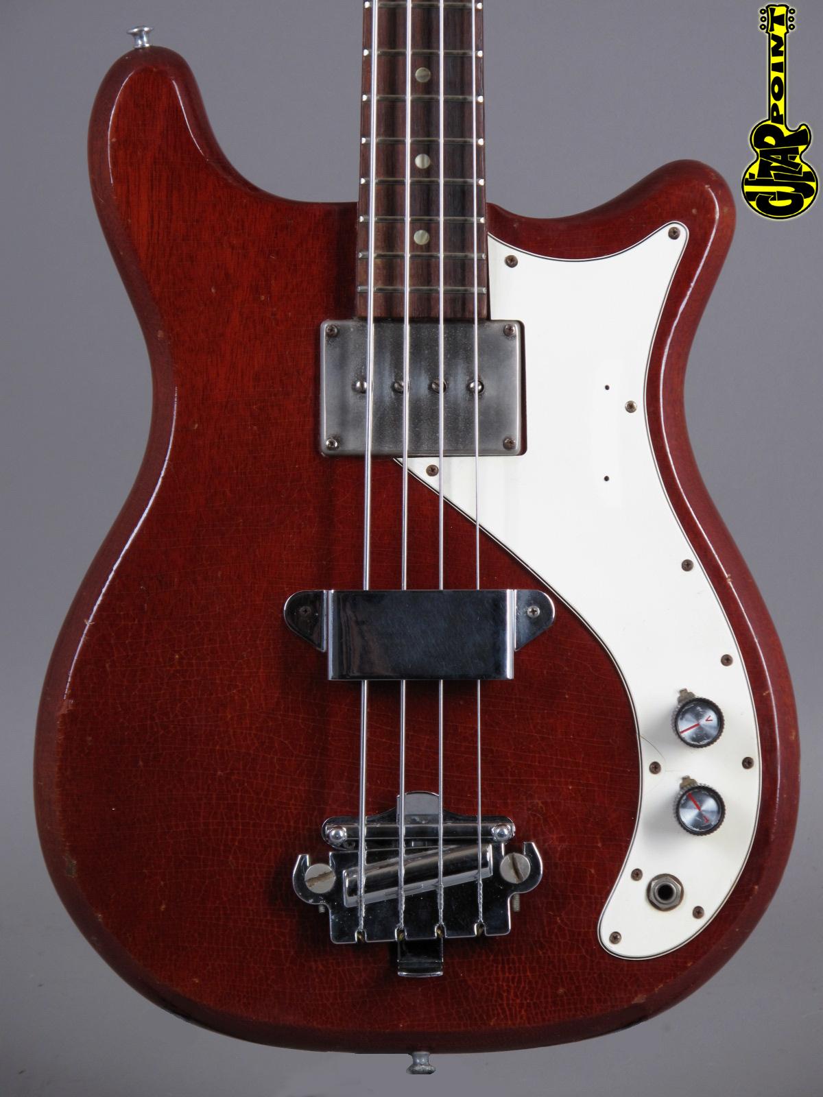 1965 Epiphone Newport Bass Cherry