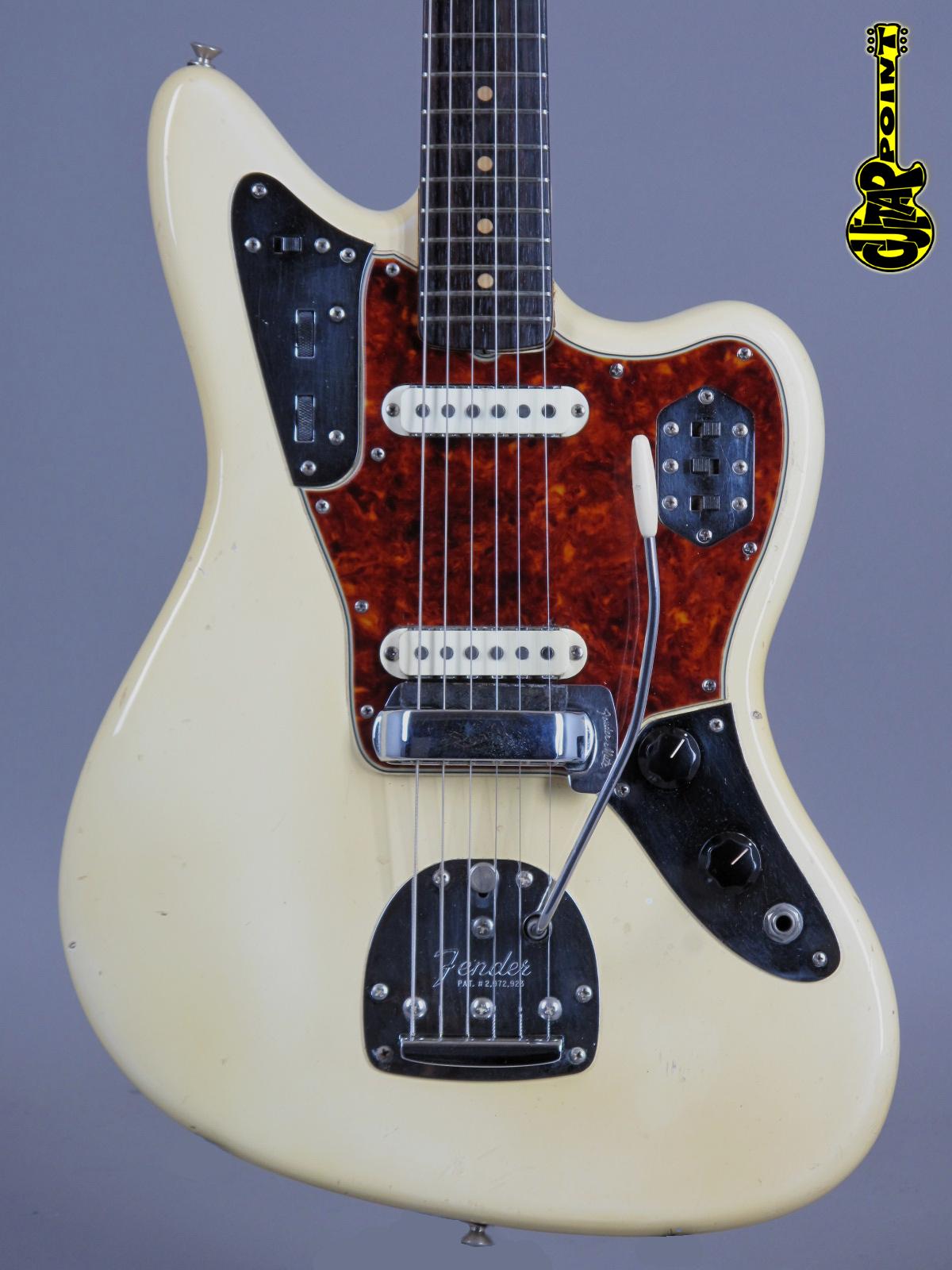 1965 Fender Jaguar – Olympic White - 1964 Specs!