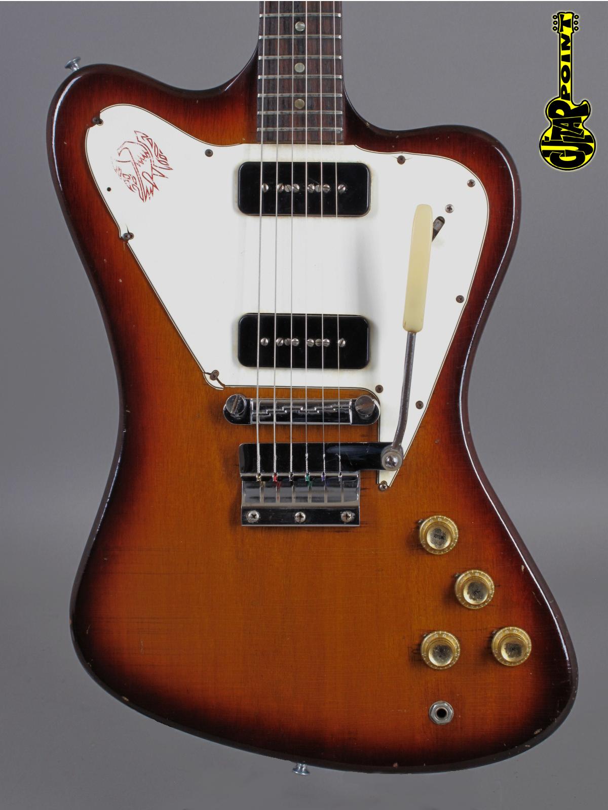 1965 Gibson Firebird I / non-reversed - Sunburst
