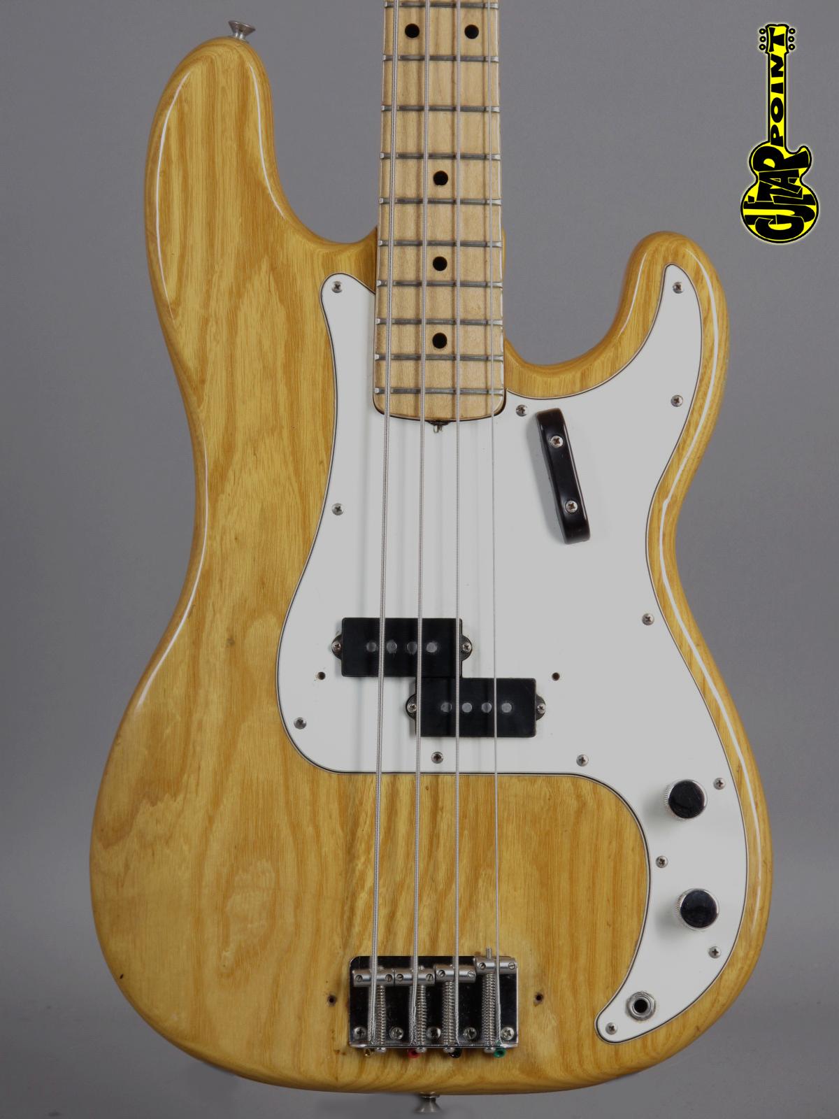 1972 Fender Precision Bass - Natural Ash