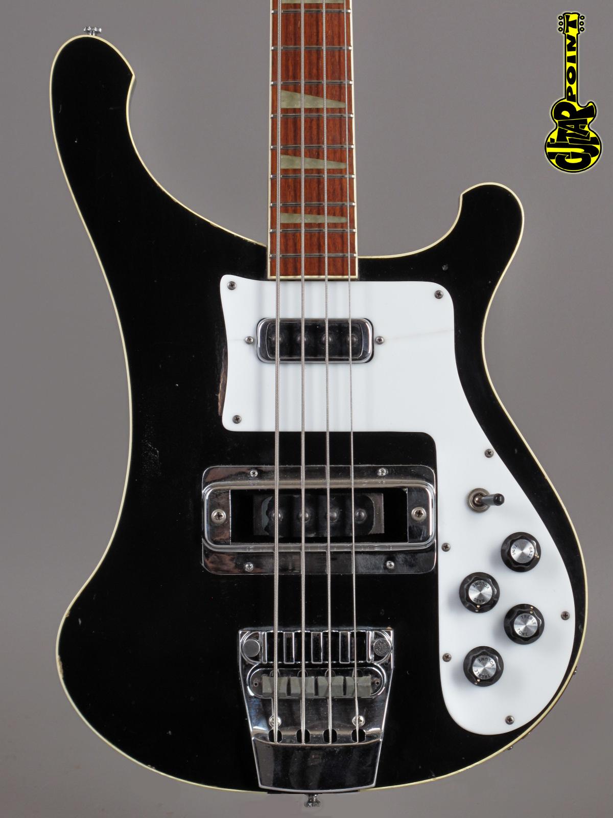 1975 Rickenbacker 4001 Bass Jetglo