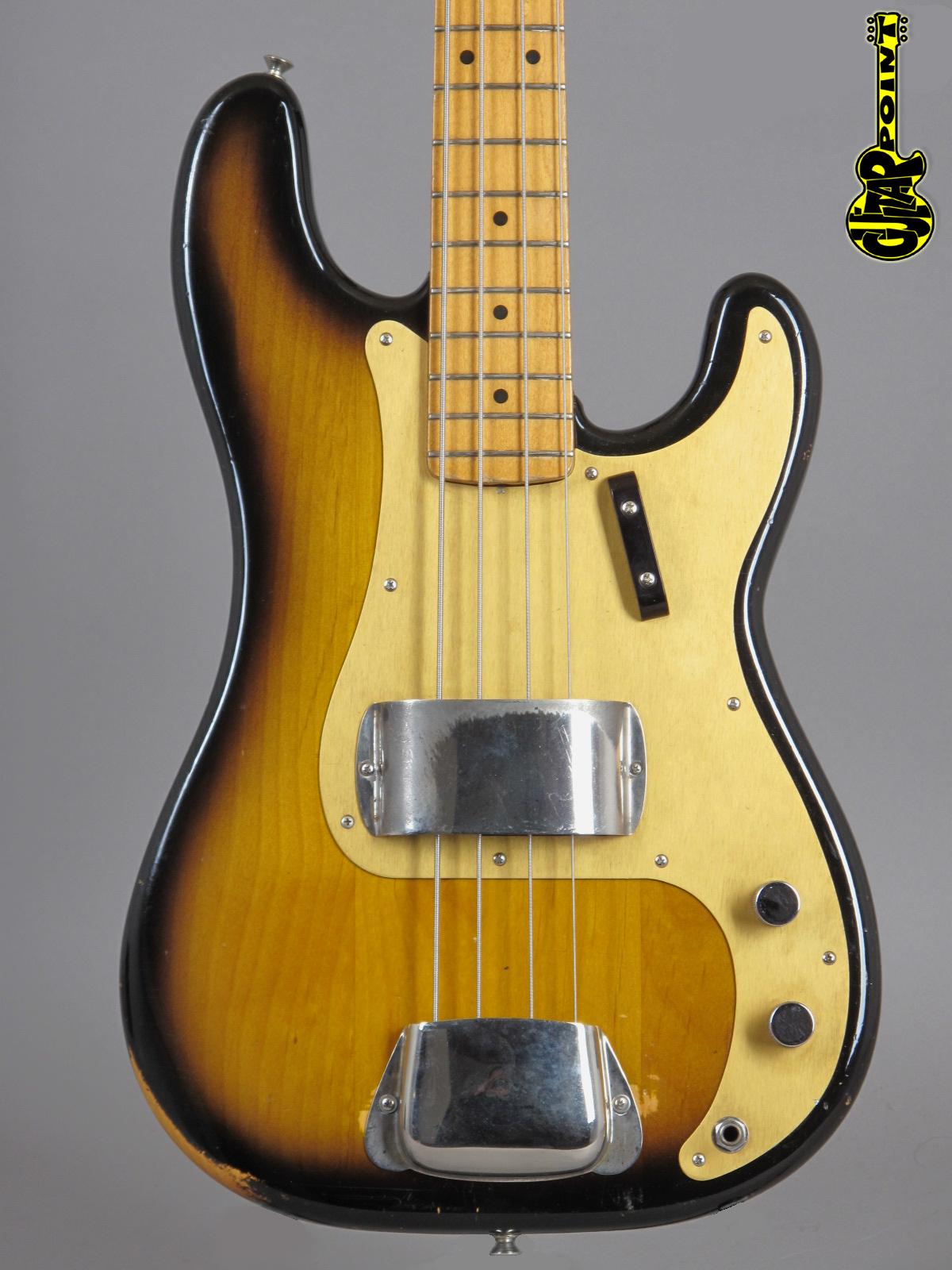 """1982 Fender ´57 Precision Bass - 2-tone Sunburst """"Fullerton"""" (Vintage Reissue)"""