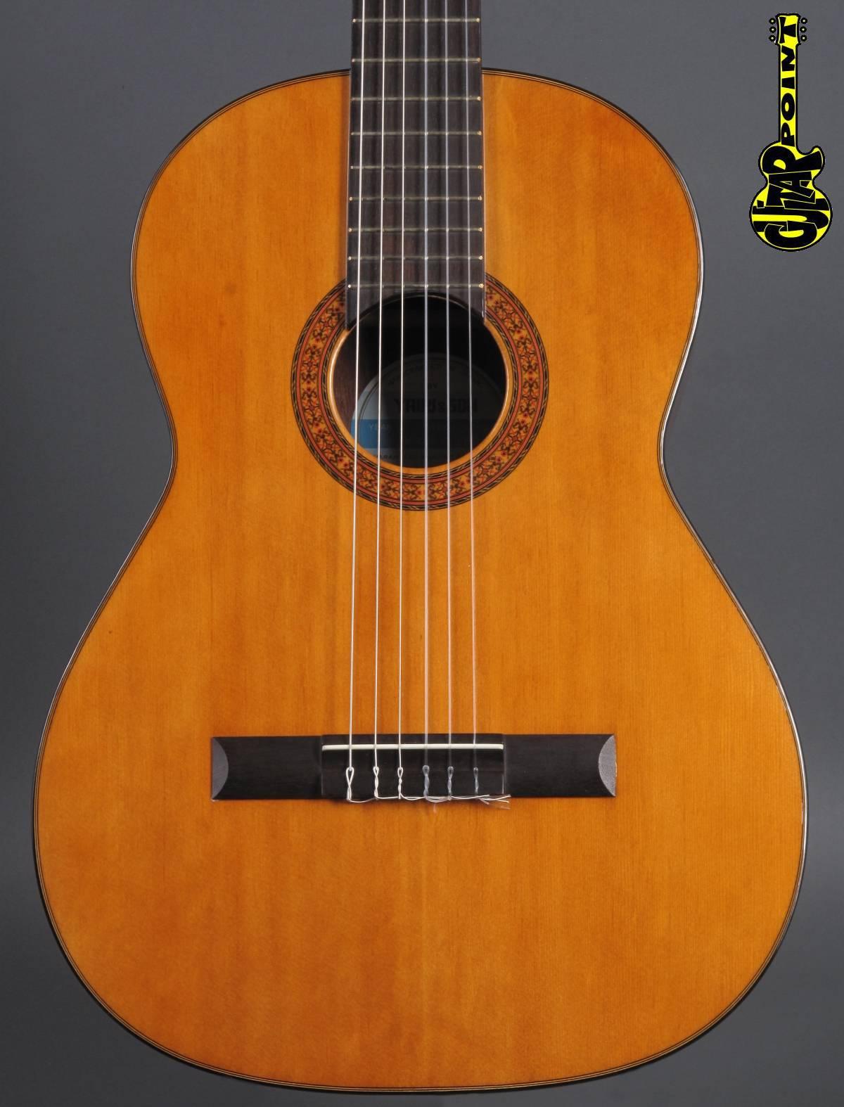 1971 Yairi M300 Nylonstring Concert Guitar