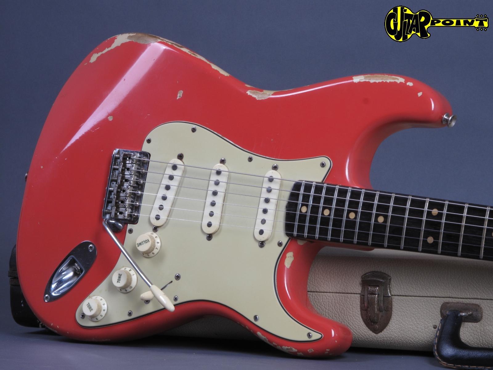 Fender Stratocaster 1963 Sunburst Guitar For Sale Twang