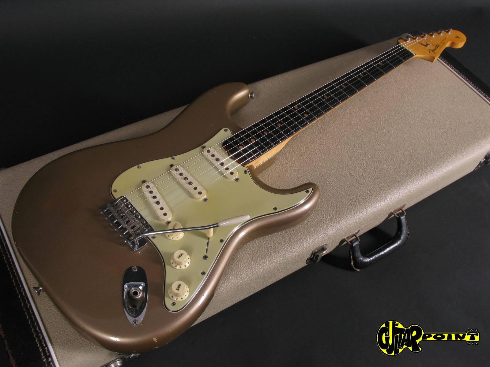 1963 Fender Stratocaster - Fiesta Red-Vi63FeStrFstaRed_L01152