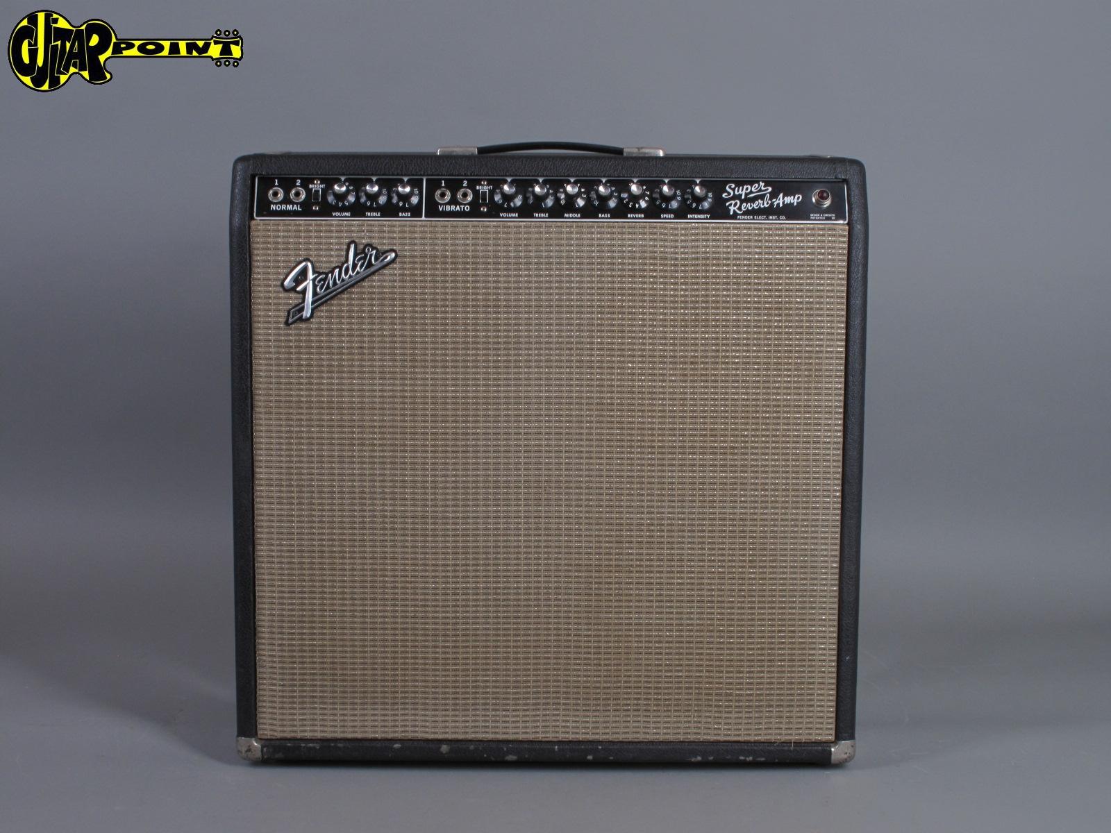 1964 Fender Super Reverb 4x10