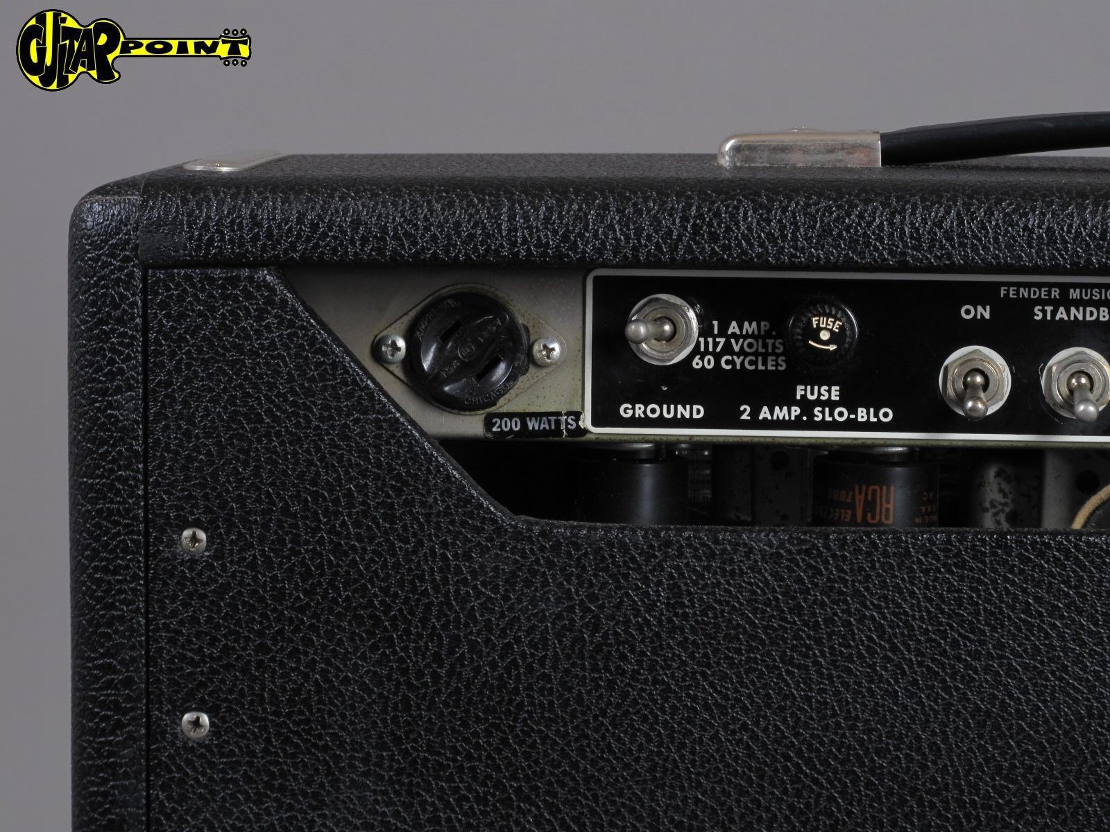 1965 Fender Deluxe Amp