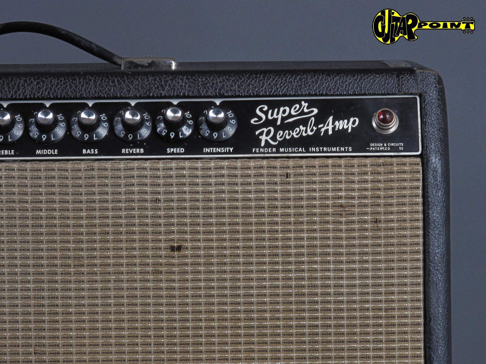 1967 Fender Super Reverb - 4x10\