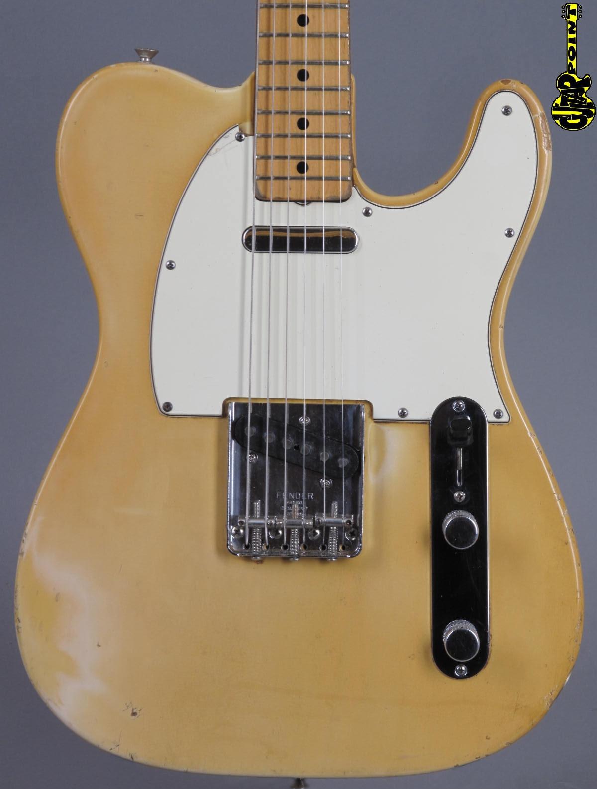 1973 Fender Telecaster - Blond / maple-neck