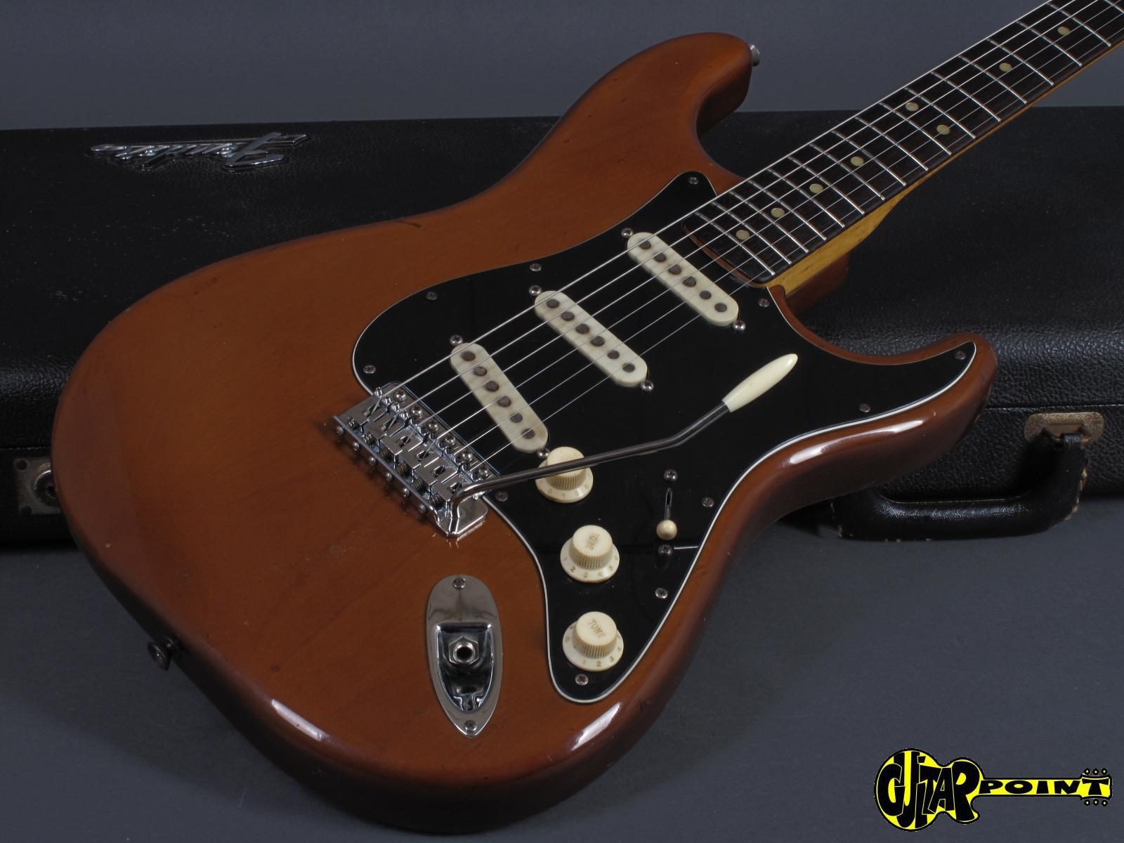 1974 fender stratocaster mocha rosewood neck vi74festrmoc569955. Black Bedroom Furniture Sets. Home Design Ideas