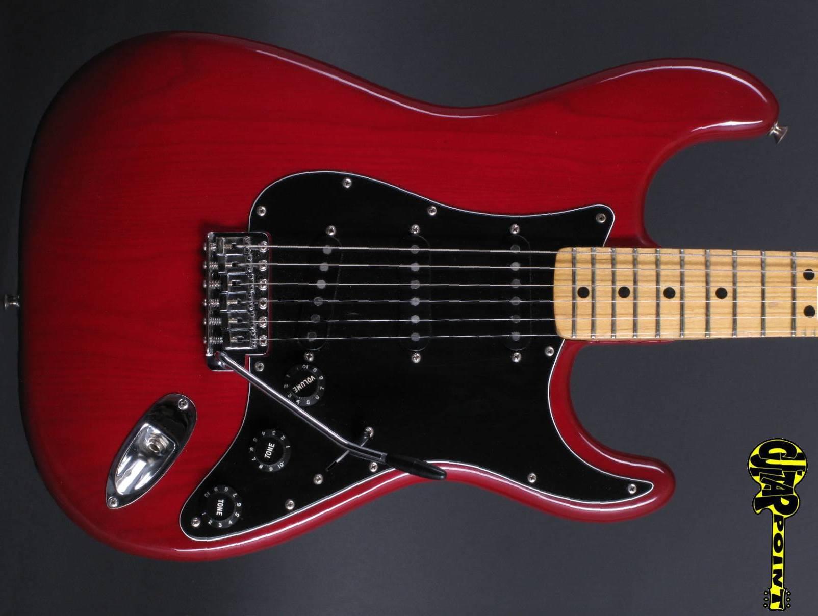 1979 Fender Stratocaster - Transluscent Red