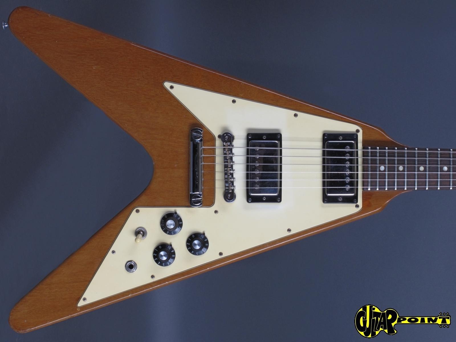 1975 Gibson Flying V - Natural    only 2,98Kg!