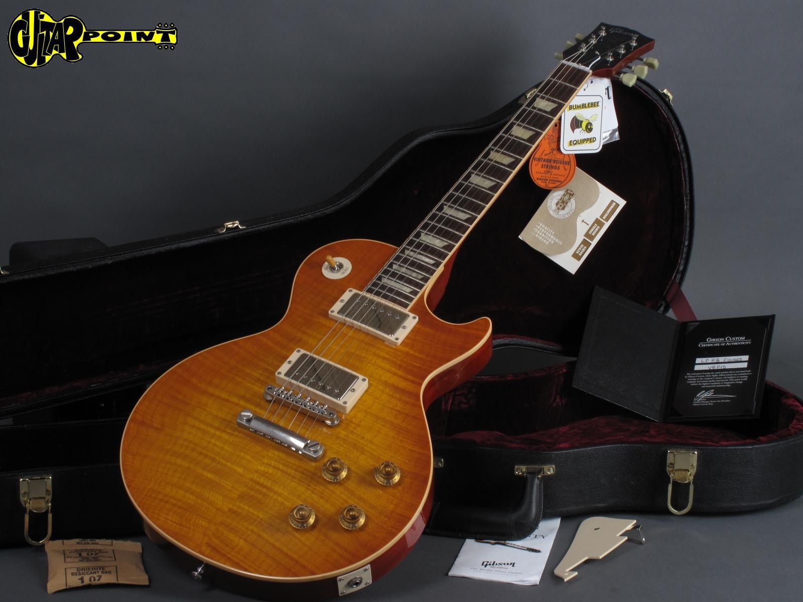 2010 Gibson Les Paul 1958 Reissue / Beauty of the Burst Pg  30 - Faded  Cherry Sunburst