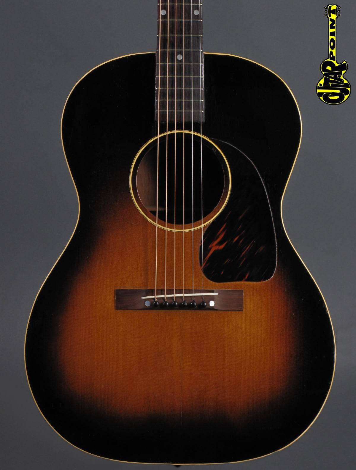 1950 gibson lg 1 acoustic guitar sunburst vi50gilg1sb57304. Black Bedroom Furniture Sets. Home Design Ideas