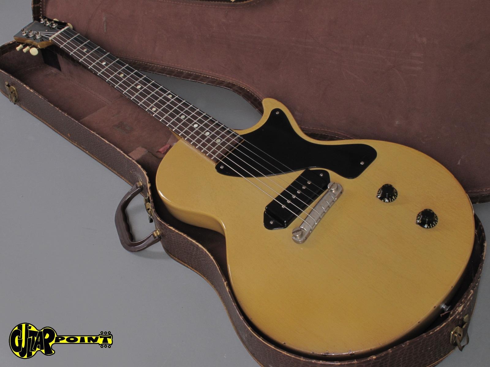 1955 Gibson Les Paul Junior Tv Yellow Vi55gilpjuntv511786