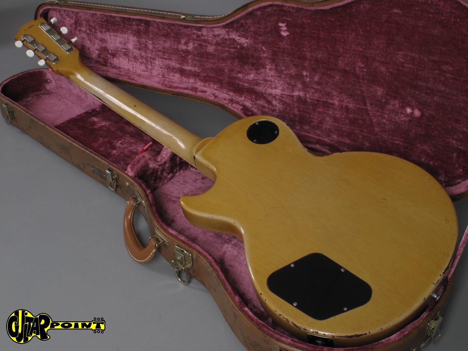 1957 Gibson Les Paul Special Tv Yellow Vi57gilpspctv74295