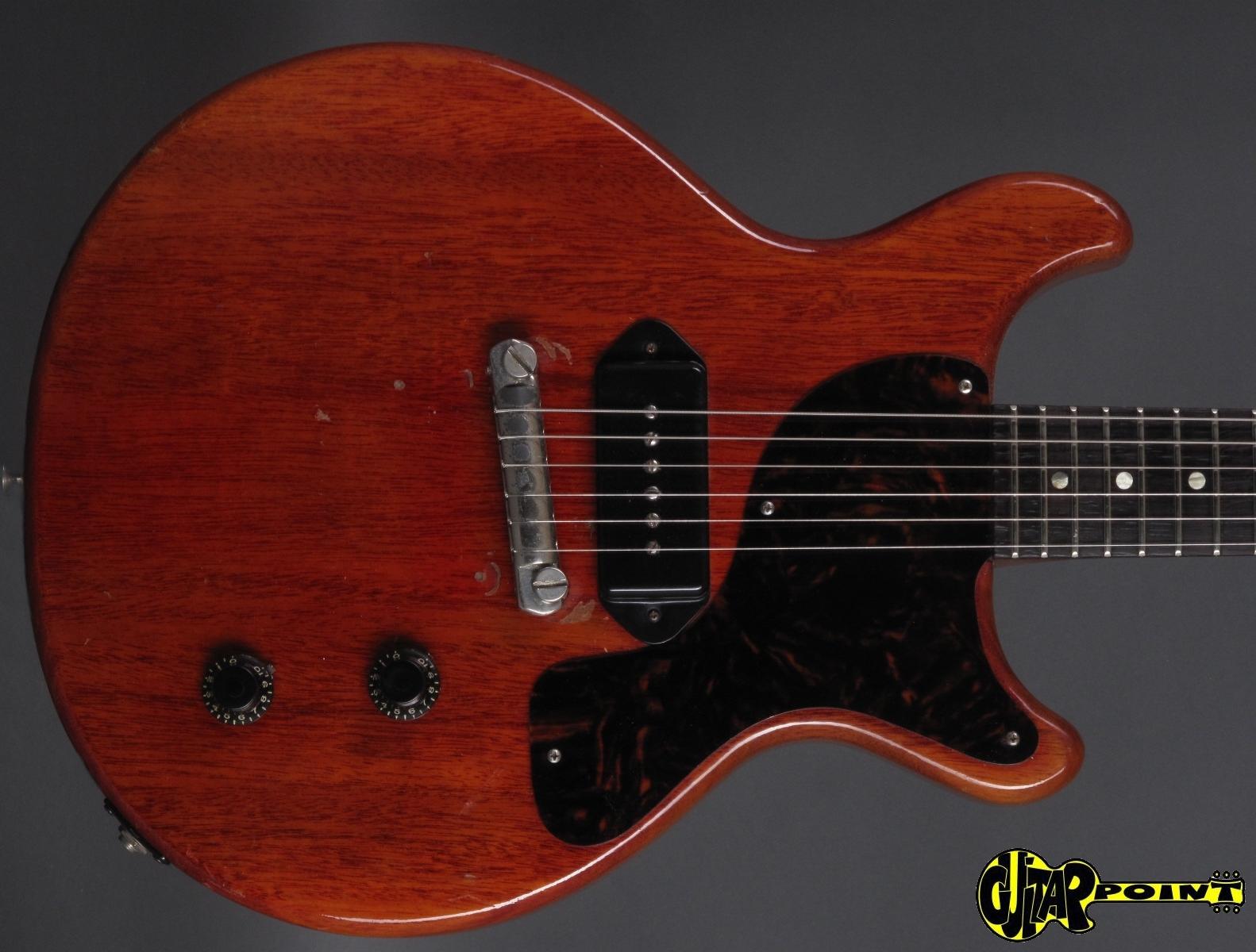 1959 Gibson Les Paul Junior Dc Cherry Vi59gilpjunchdc933801