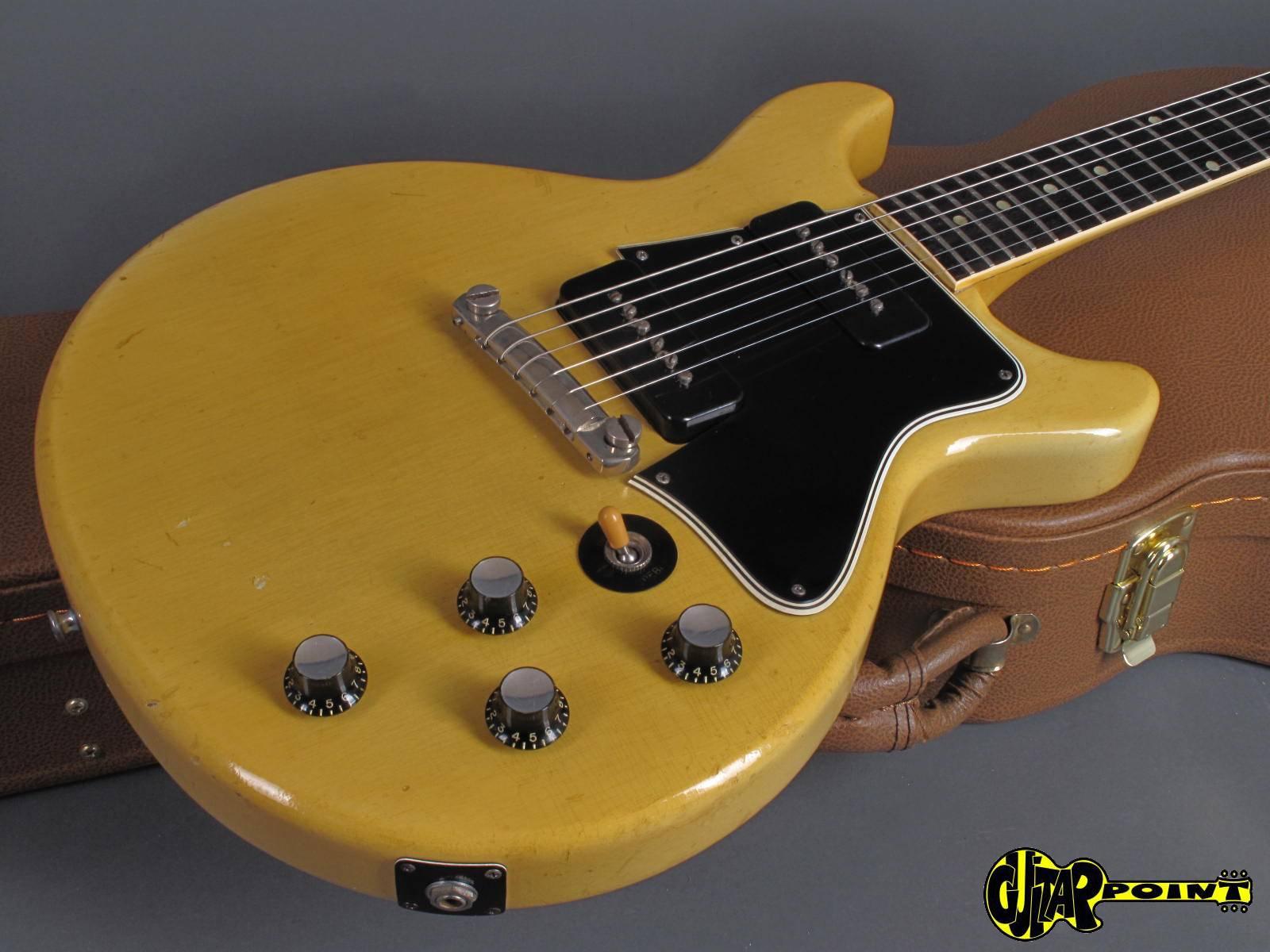 1961 Gibson Les Paul Special Dc Tv Yellow Vi61gilpspctv2343