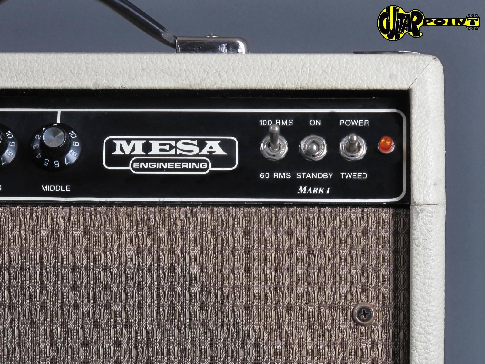 1991 Mesa Boogie Mark 1 Reissue - Cream Tolex