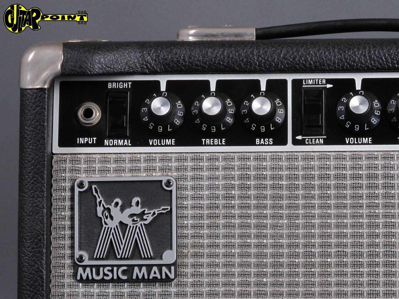 1982 Music Man 110 Rd Fifty 50 Watt Vi82musicmanrd110en09848 Voltage Limiter For Guitar Amplifiers