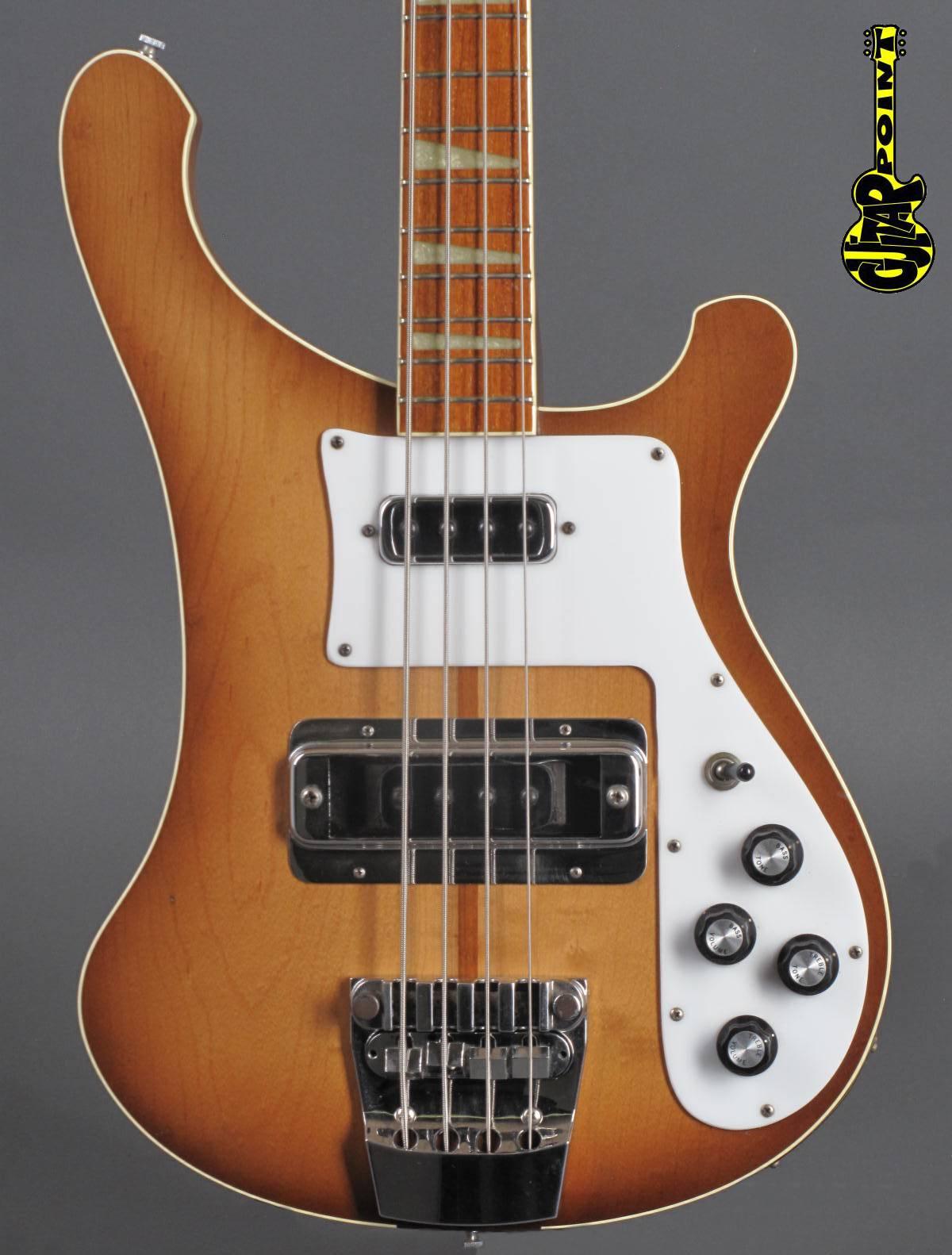1978 Rickenbacker 4001 Bass - Autumnglo