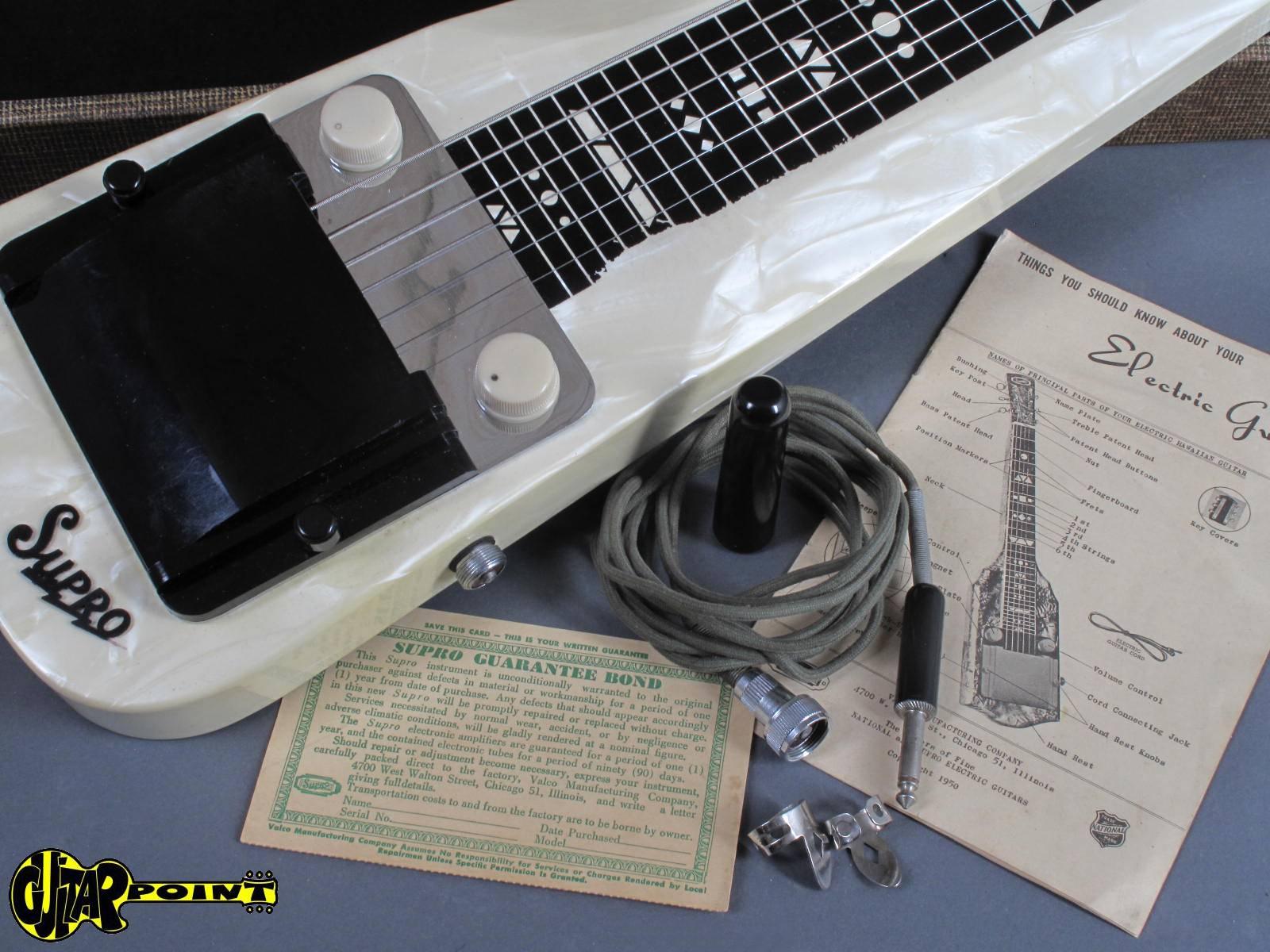1955 Supro Comet 1410 Lap Steel Guitar Vi55suprocomet1410 Epiphone Amplifier Schematic